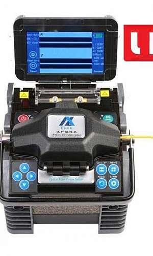 Máquina de emenda de fibra óptica