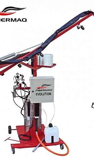 Máquina laminadora de fibra de vidro preço