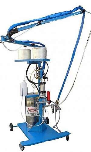 Máquina laminadora fibra de vidro