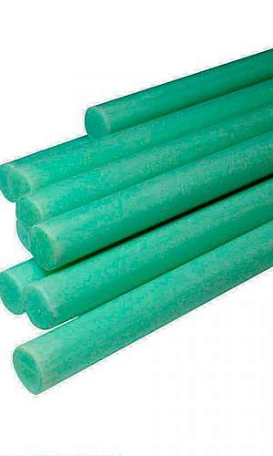 Tarugo de fibra de vidro